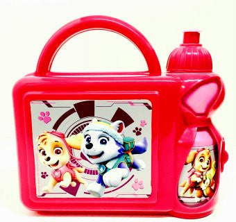 PAW PATROL GIRLS PLASTIC LUNCH SET