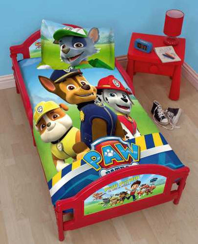 Official Nick Jr. PAW Patrol Rescue Toddler - Junior My First Bed