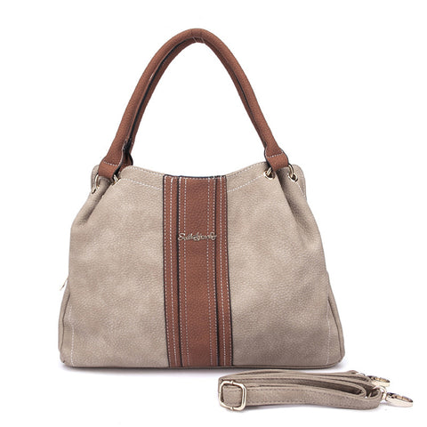 Apricot - Sally Young Elegant Patchwork Lady's Handbags