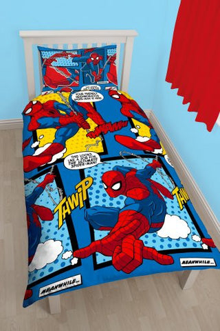 Spiderman Ultimate Parker Rotary Duvet Set
