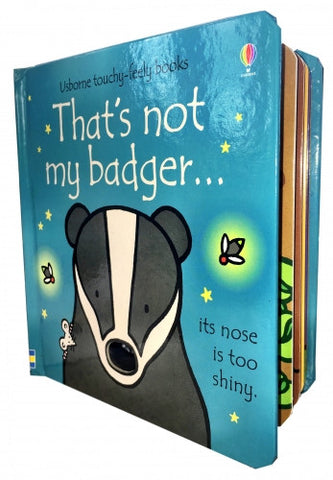 Thats Not My Badger (Touchy-Feely Board Books)