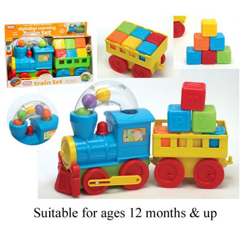 Train Set W/trailer & Blocks PREORDER