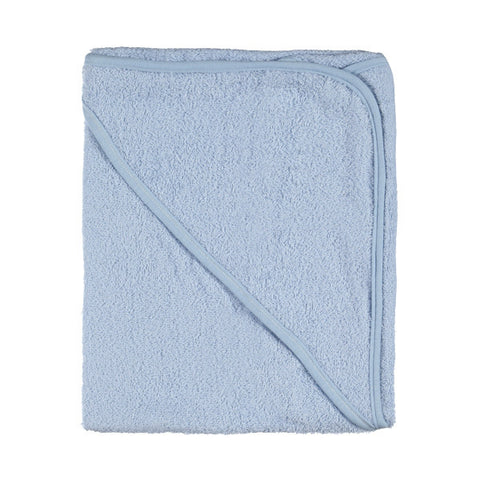 Baby Blue cotton hooded towel /bath robe