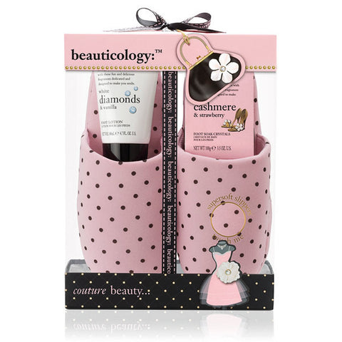 Baylis & Harding Beauticology Couture Slipper Set