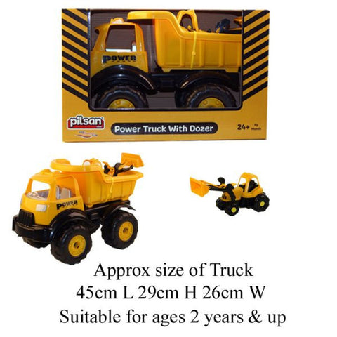 Big Truck With Mini Dozer PREORDER