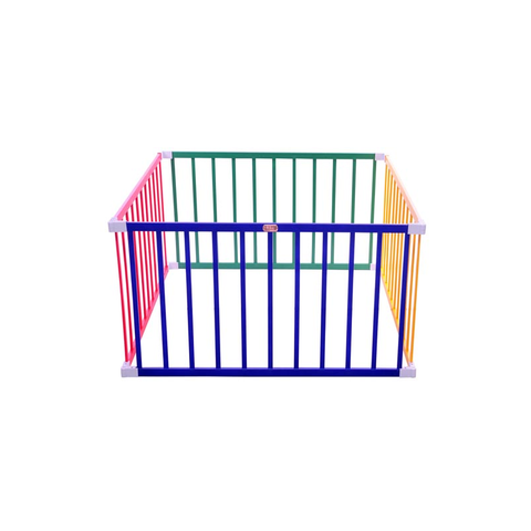 Boss Playpen - Square Colourful