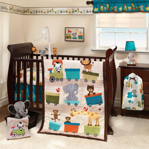 Choo Choo 3-piece Bedding Set