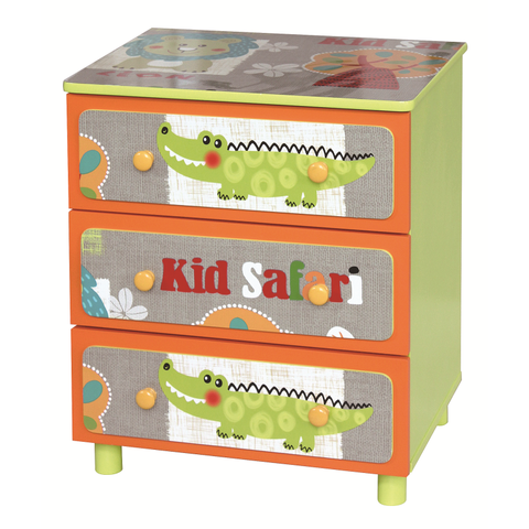 Kid Safari 3 drawer cabinet