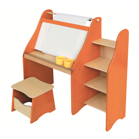 Artists Drawing Desk and Stool Set