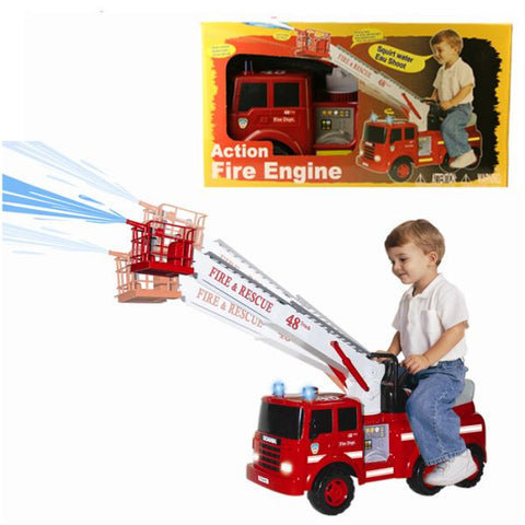 Fire Engine B/o Squirt Water PREORDER