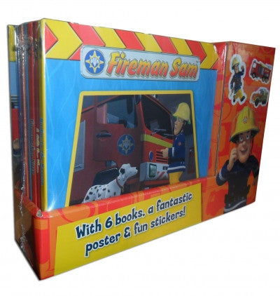 Fireman Sam 6 Books Collection