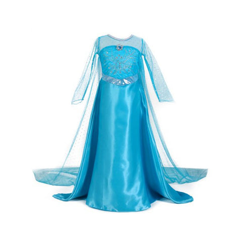 Frozen Dress Costume Princess Cosplay Party Dresses