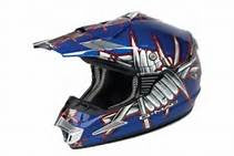 G Mac Slasher MX Helmet