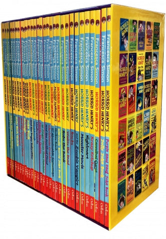 Horrid Henrys Loathsome Library Collection 30 Books Set