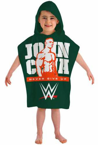 Official WWE John Cena Character Hooded Towel Poncho