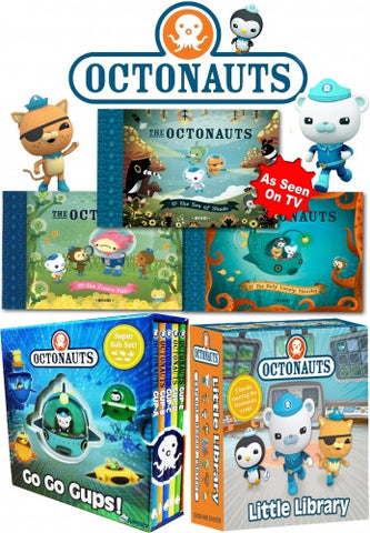 Octonauts 13 Books Collection Pack Set As Seen on TV
