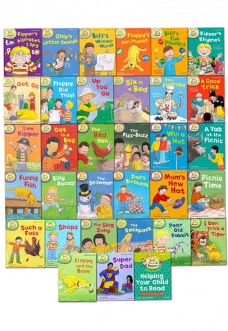 Read with Biff, Chip & Kipper Collection 33 Books Set