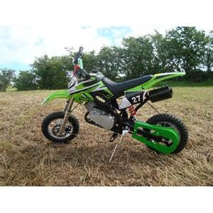 Pocket Rocket Scrambler 49cc - (MINI DIRT DEVIL) Green