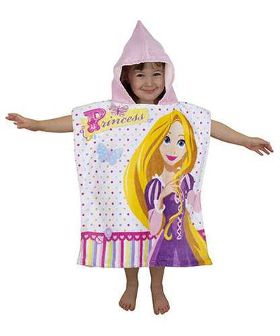 "Official Disney Princess ""Dreams"" Character Hooded Towel Poncho"