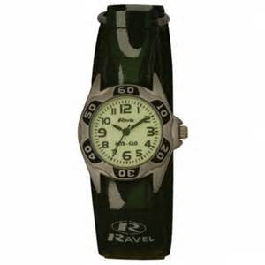Ravel Boys Nite Glo Watch with Luminescent Dial