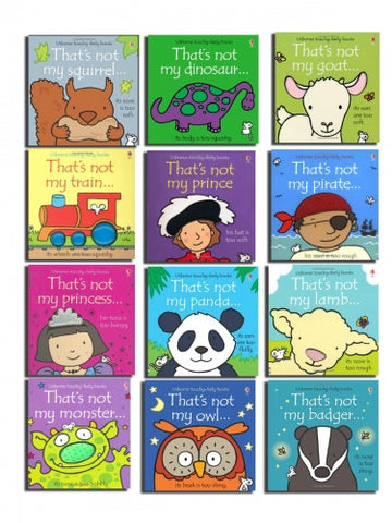 Thats not my 12 Toddlers Books Set Collection Fiona Watt