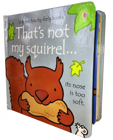 Thats Not My Squirrel (Touchy-Feely Board Books)