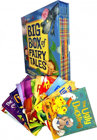 Big Box of Fairy Tales Collection 10 Books Box Set