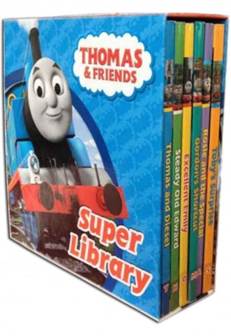 Thomas and Friends Super Library 6 Book Set Collection