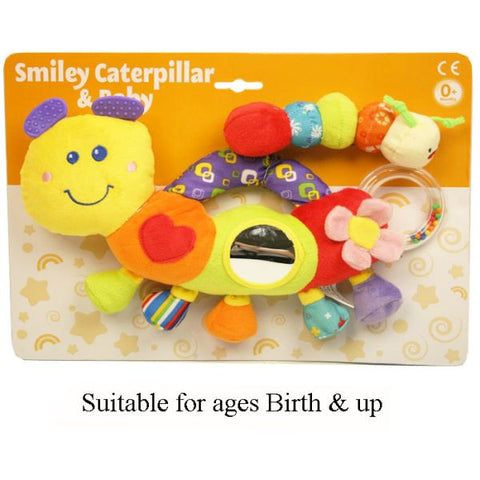 Smiley Caterpillar Baby Toy
