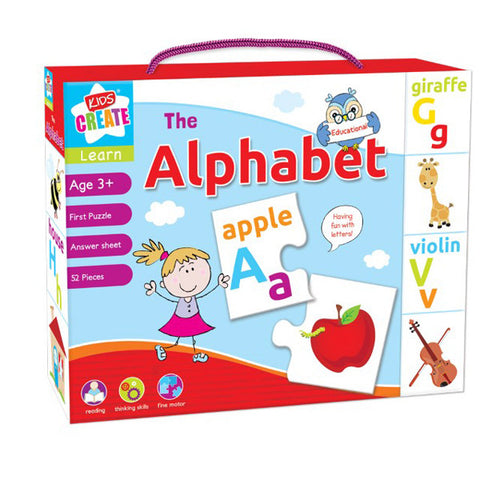 Learn The Alphabet - Educational First Puzzle