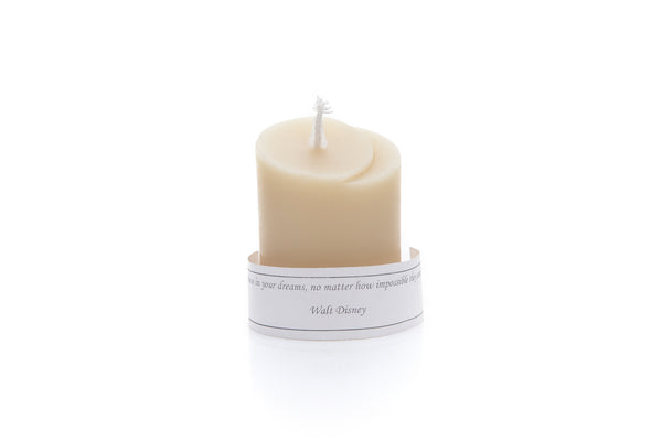 Moon Surprise Message Candle