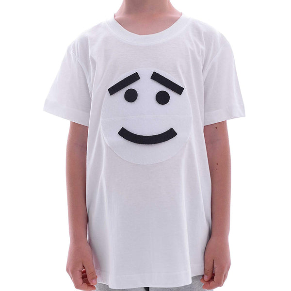 Moon 'Funny-Faces' T-Shirt for Kids - with Detachable Accessories