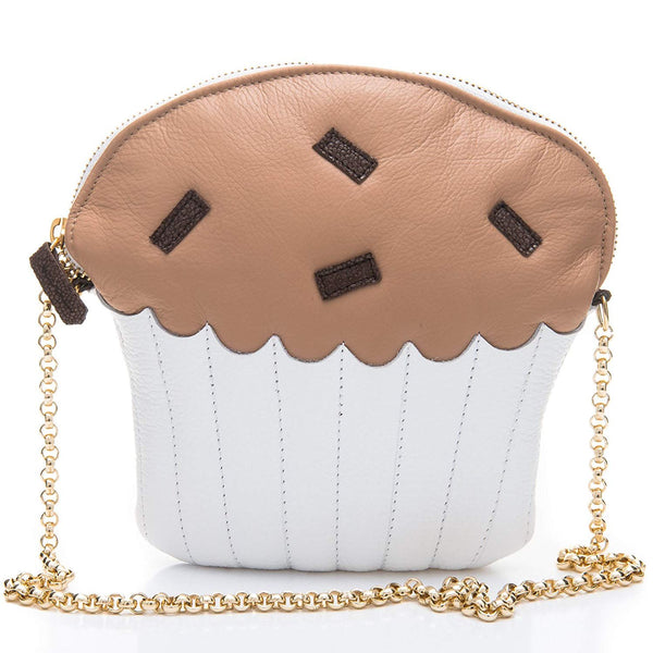 Moon Sweet Muffin Leather Purse for Women