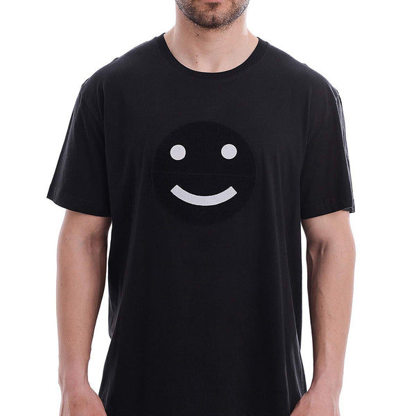 Moon 'Funny-Faces' T-Shirt for Men with Detachable Accessories