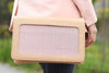 Moon Nude Clutch leather handbag