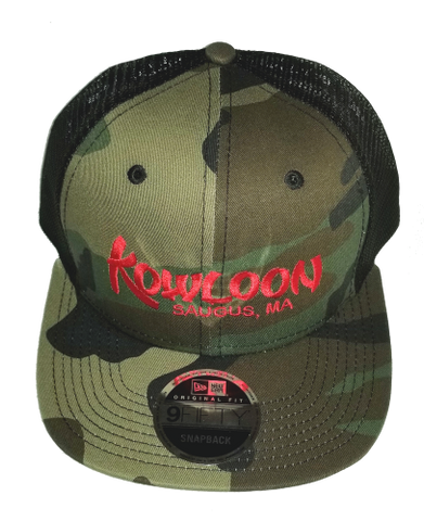 Kowloon Trucker Hat - Camo