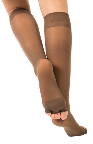 Low Compression Knee High Stockings 1113T