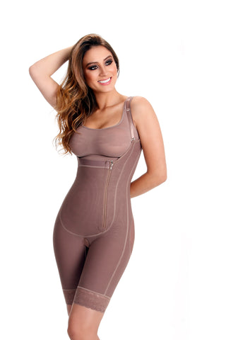 Wonderfit Zipper on the Side Body Shaper 20935