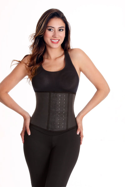 3 Hooks Wonderfit Latex Waist Trainer 0445