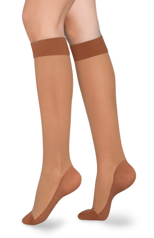 Mid Compression Knee High Stockings 1123