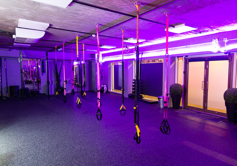 Workout studio at Equilibrium