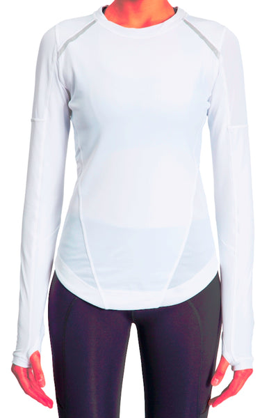 Sport Long Sleeve Tee - White