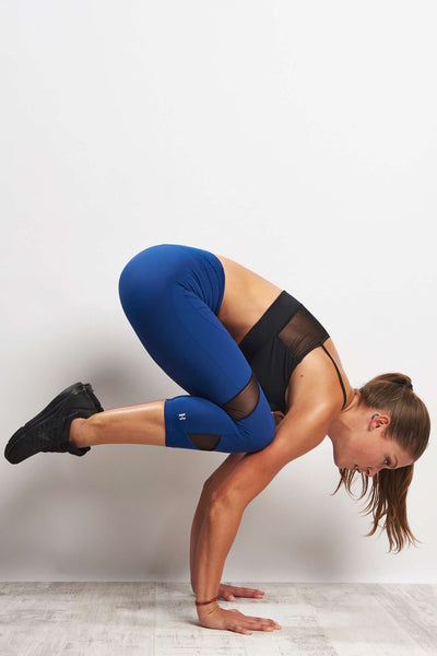 Cropped Fashion Legging (Medium Compression)