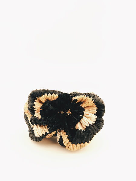 Black and natural Berret Headband