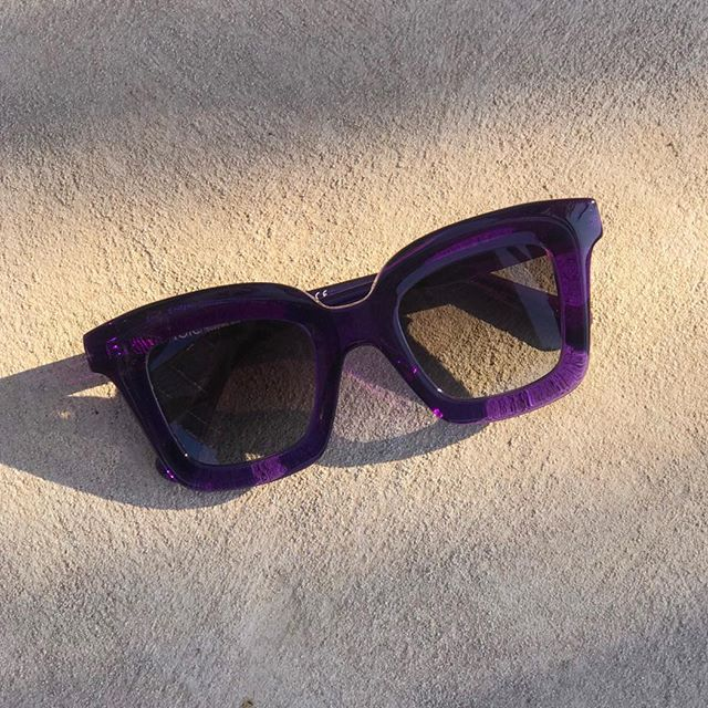 Kati Purple Sunglasses from Folc