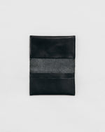 Load image into Gallery viewer, Leather simple credit card holder black