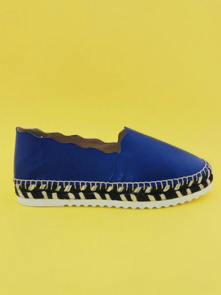 Agata Costa Blue Nappa leather Espadrilles