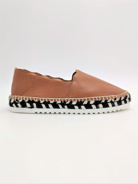 Agata Camel Nappa leather Espadrilles