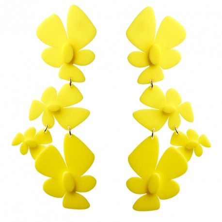 """Duchess"" Plexi Earrings"