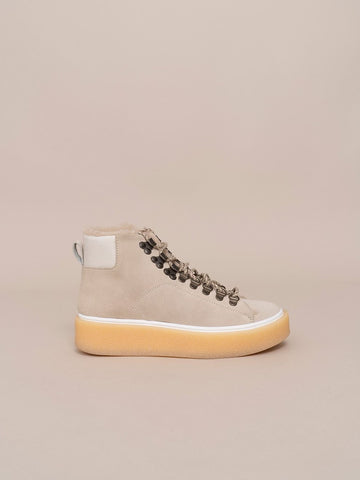 Snow Boot Platform Sneakers